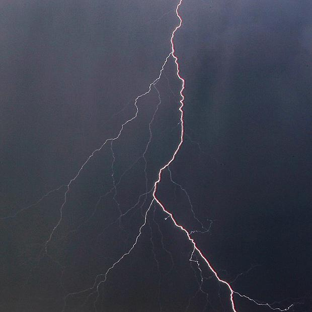 A lightning strike in rural South Africa has killed seven people