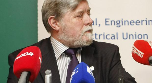 TEEU general secretary Eamon Devoy has called on workers to launch a campaign of civil disobedience in protest at the Government's national recovery plan