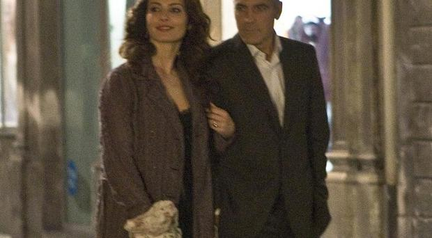 Violante Placido wasn't worried about her naked scene with George Clooney