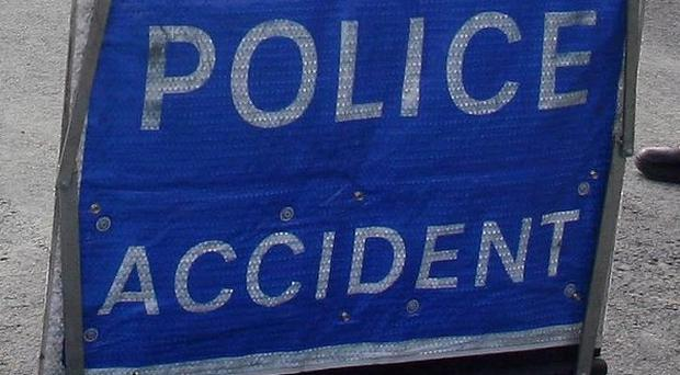 A baby boy has been killed in a car crash, police said