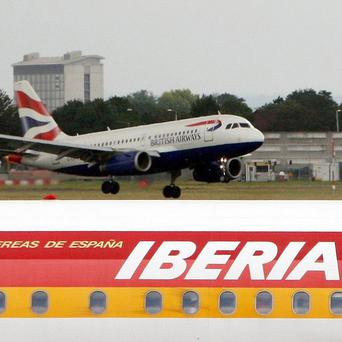 BA shareholders have approved a 5 billion pounds merger between the airline and Spanish carrier Iberia