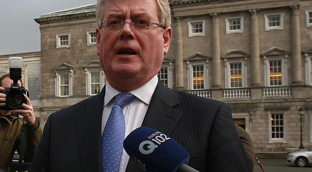 Labour leader Eamon Gilmore accused the Government of showing 'no backbone'