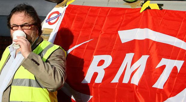 Tube strike action could escalate after the Christmas period, union chiefs said