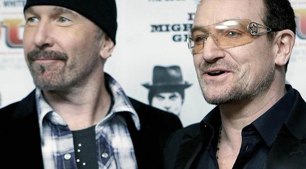 The Edge and Bono provided the score for the Spider-Man musical