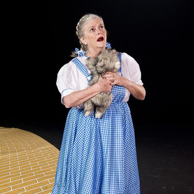 Ann Widdecombe prepares for next week's Movie Night on Strictly Come Dancing