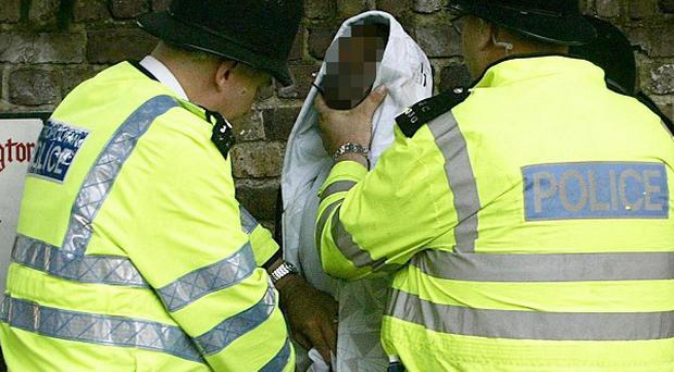 Two police forces have been warned over their use of stop and search powers