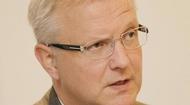 EU commissioner Olli Rehn believes Ireland will bounce back rapidly from its current economic woes