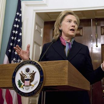 Secretary of State Hillary Rodham Clinton said the leak was an attack on both the US and the international community (AP)
