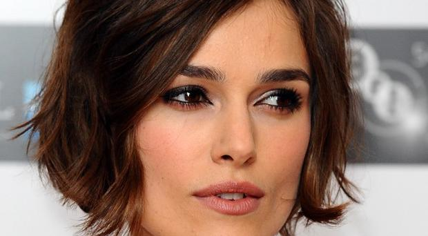 Keira Knightley is a big footie fan, according to Ray Winstone
