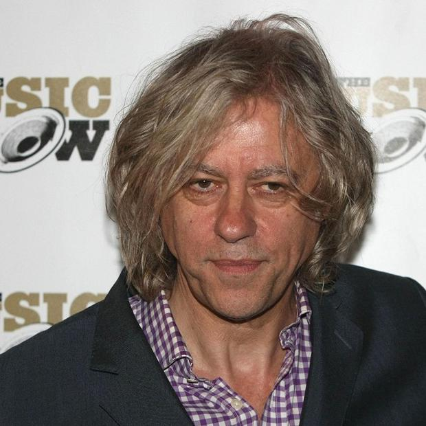 Sir Bob Geldof is sick of hearing his Christmas song