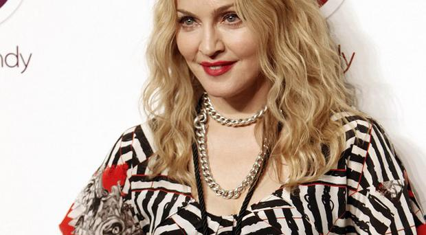 Madonna opened Hard Candy fitness this week