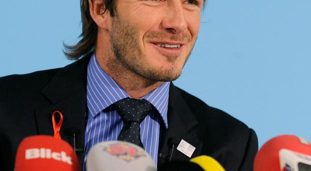 David Beckham is working night and day for England in its quest to host the 2018 World Cup