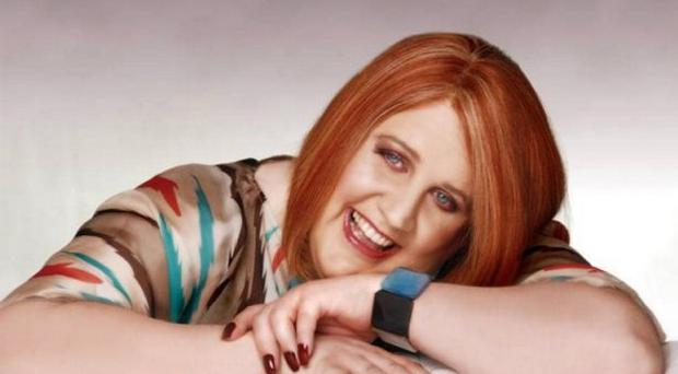Peter Kay as his popular character Geraldine from Britain's Got The Pop Factor