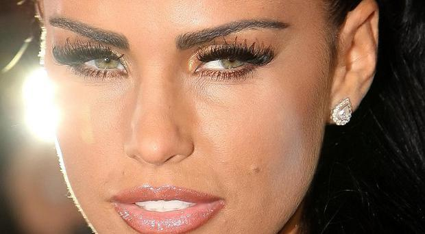 Katie Price - aka Jordan - has been banned from driving after being caught speeding