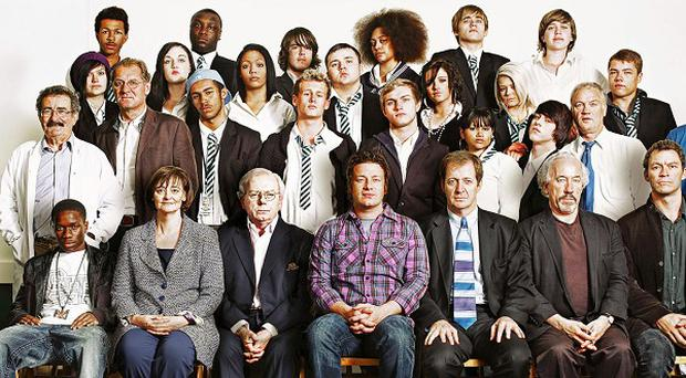 Jamie Oliver has recruited a team of inspirational teachers including Lord Winston, David Starkey and Alastair Campbell