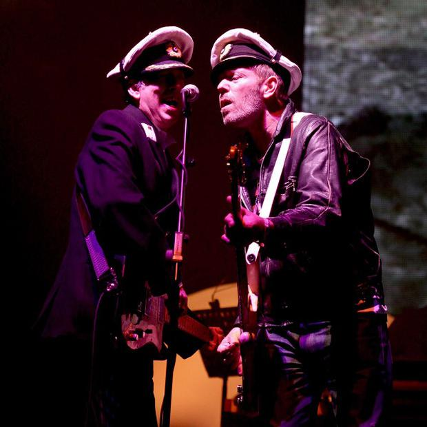 Mick Jones and Paul Simonon have given their blessing to the Clash movie