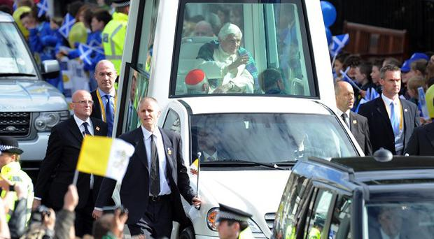 Pope Benedict XVI would happily use a solar-powered popemobile, the Vatican said