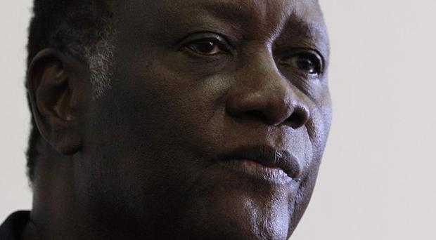Opposition leader Alassane Outtara has reportedly won the Ivory Coast presidential election (AP)
