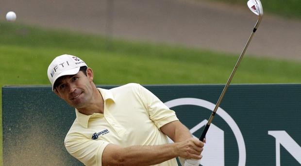 Padraig Harrington leads the way at the Nedbank Challenge after an impressive first round
