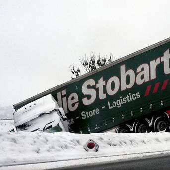 Drivers have been warned that Britain's roads are treacherous after a week of snow and ice