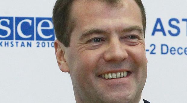 Russian president Dmitry Medvedev was the subject of some of the leaks