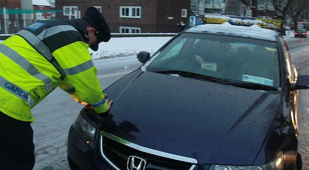The weather has caused problems for many motorists