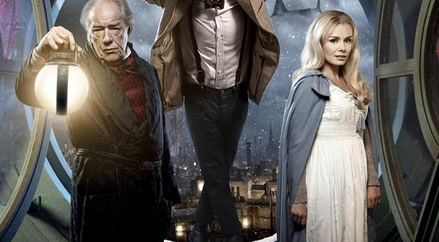 Matt Smith stars as the Doctor alongside Michael Gambon and singer Katherine Jenkins in the Doctor Who Christmas special