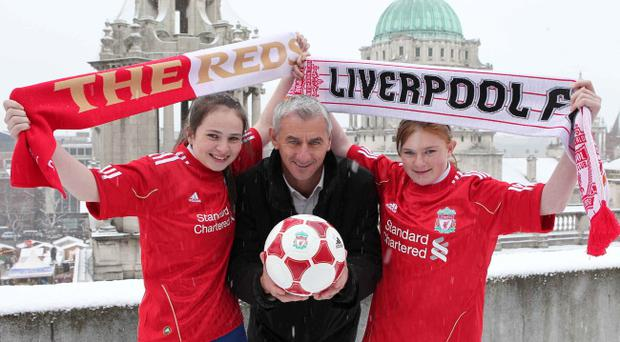 Liverpool are keen to unearth new talent in their Northern Ireland Academy and Reds' striking legend Ian Rush was in Belfast yesterday to the launch the initiative