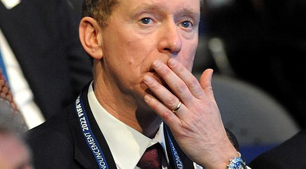 Chief executive Andy Anson was unhappy about the role of the British media during the failed bid