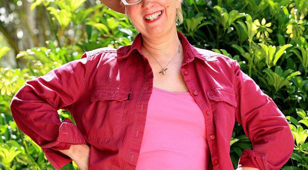 Jenny Eclair said she was surprised at how well she got on with Dom Joly