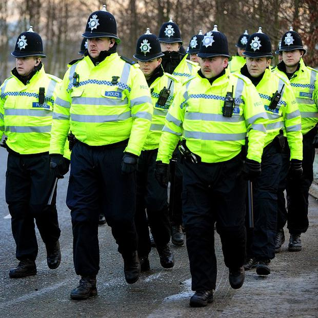 Almost one in 10 police officers in England and Wales is on sick leave or performing limited duties, figures claim