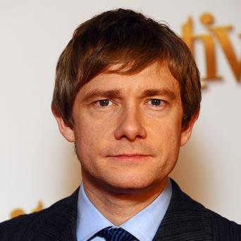 Martin Freeman said the success of Sherlock was a lovely surprise