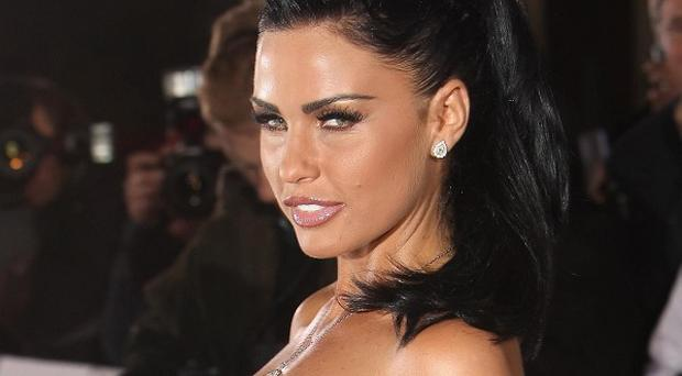 Katie Price apologised for comments on Twitter