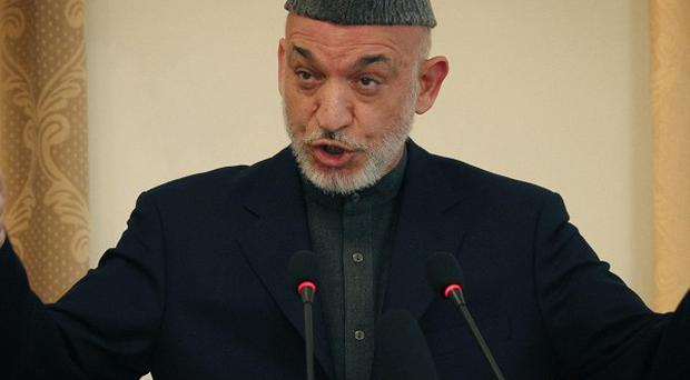 Afghan President Hamid Karzai was labelled 'weak' in a leaked cable. (AP)