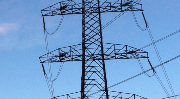 Around 1,300 homes have been left without power in north Belfast during bad weather