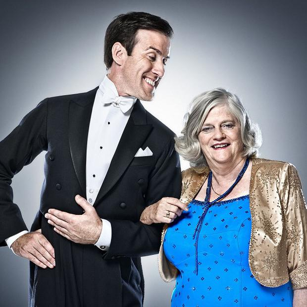 Ann Widdecombe's American Smooth got a low score