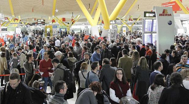 Most Britons stranded due to wildcat strike action by Spanish air traffic controllers have now returned home (AP)