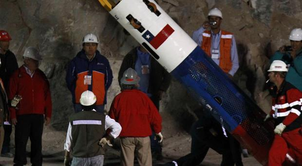The ordeal of 33 Chilean miners trapped underground for two months is close to becoming a movie