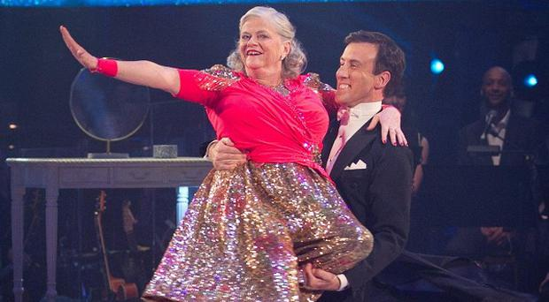 Ann Widdecombe has been voted off Strictly Come Dancing
