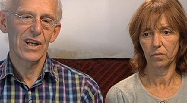 John and Lorna Norgrove have seen footage of the attempt to rescue their daughter in Afghanistan