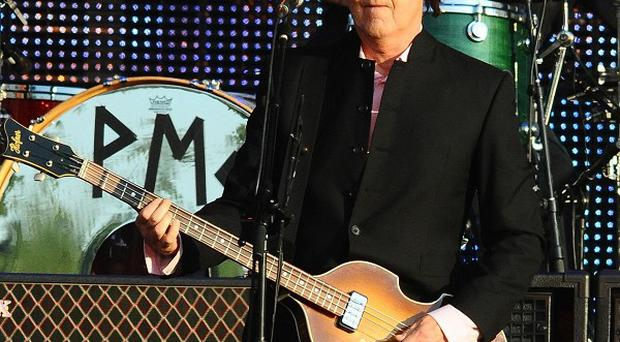 Sir Paul McCartney announced he is taking his band to London and his home town of Liverpool