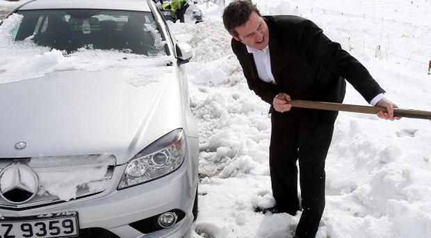 Private firms could be used to help clear snow and ice