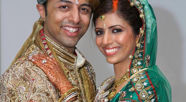 Shrien Dewani with his wife Anni, who was murdered in a carjacking on their South African honeymoon
