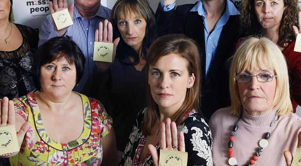 Campaigners launch a drive urging more rights for families left in limbo by a disappearance
