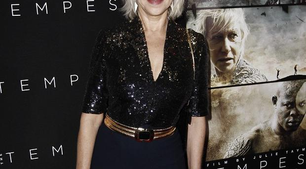 Dame Helen Mirren jumped at the chance to play a male role in The Tempest