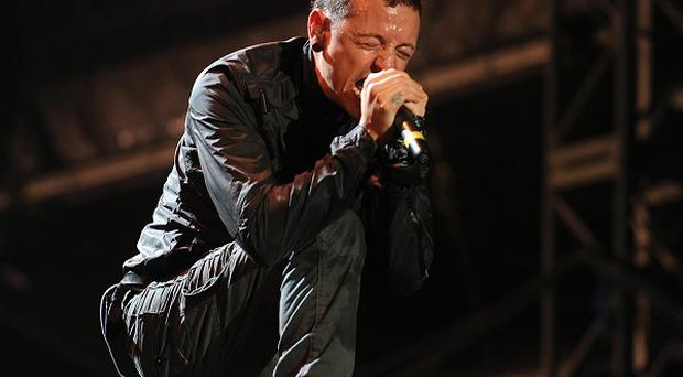 Chester Bennington of Linkin Park has welcomed their Download date