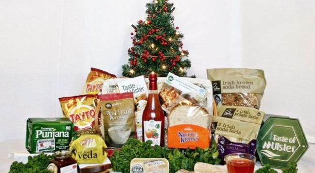 The Good Food is in our Nature Christmas hamper