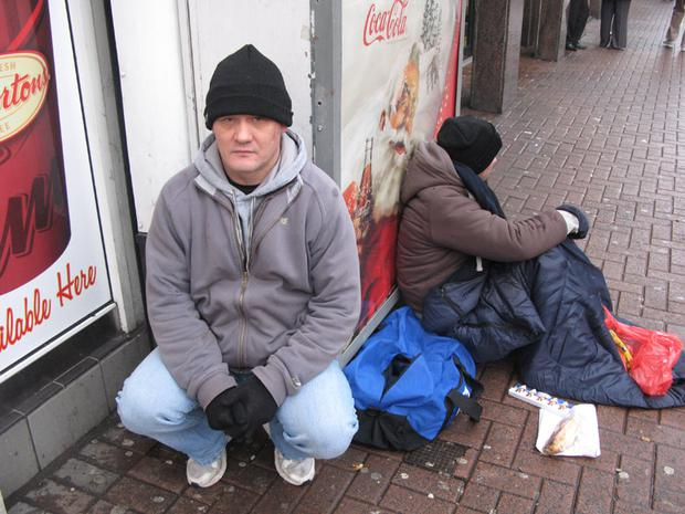 For Belfast's homeless community, Christmas is as bleak as any other time of year, as Chris McCann discovers
