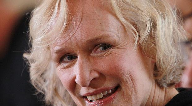 Glenn Close inDublin before the start of production of the feature film Albert Nobbs