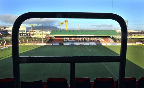 Glentoran need a cash windfall this Christmas to pay a tax bill